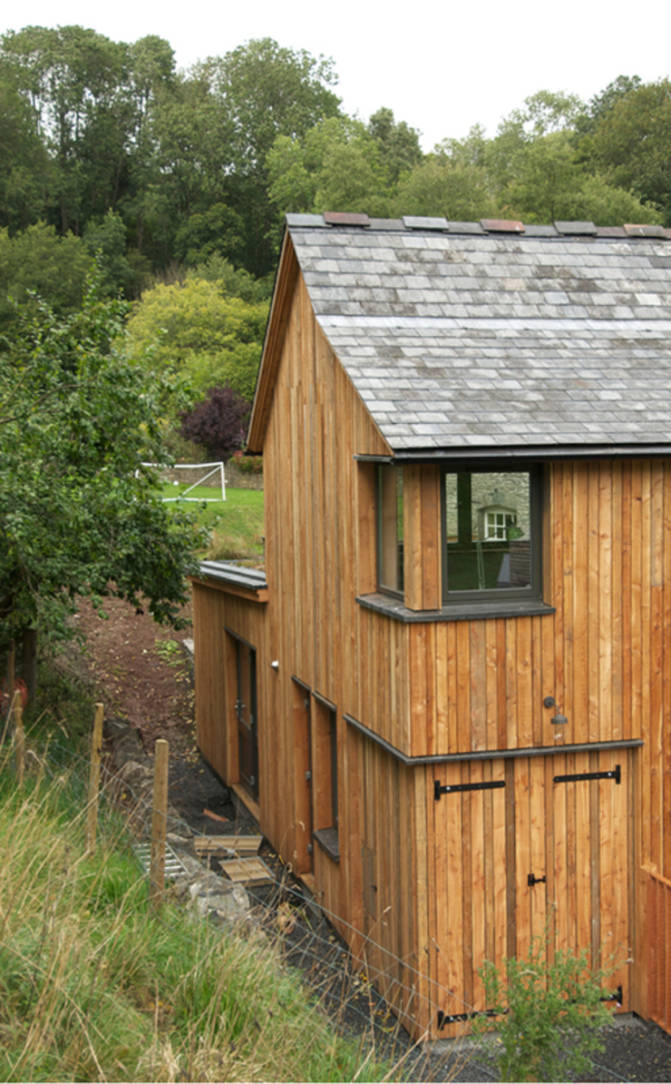 Play Barn, Wales by Jeff Kahane + Associates
