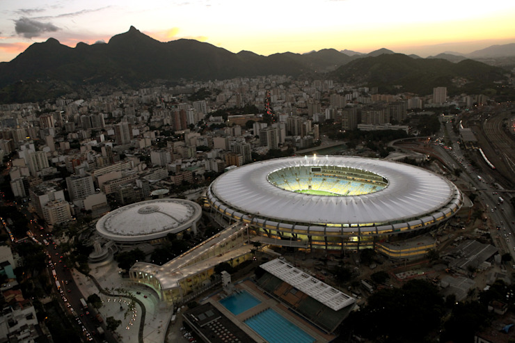 Arena Maracanã Stadiums by Fernandes