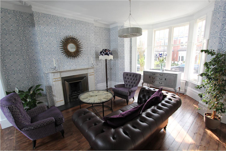 Muswell Hill N10: Victorian Terraced House Classic style houses by Increation Classic
