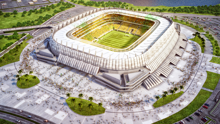 Arena Pernambuco Stadiums by Fernandes