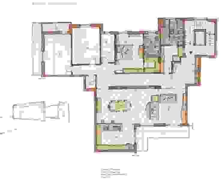 Appartamento Via Aniello- Falcone Case di Gnosis Architettura Società Cooperativa