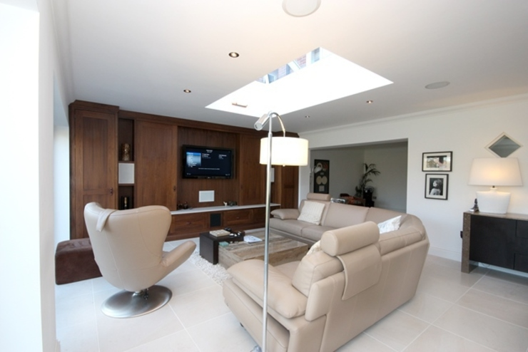 Lighting and Automation Systems Modern houses by Inspire Audio Visual Modern