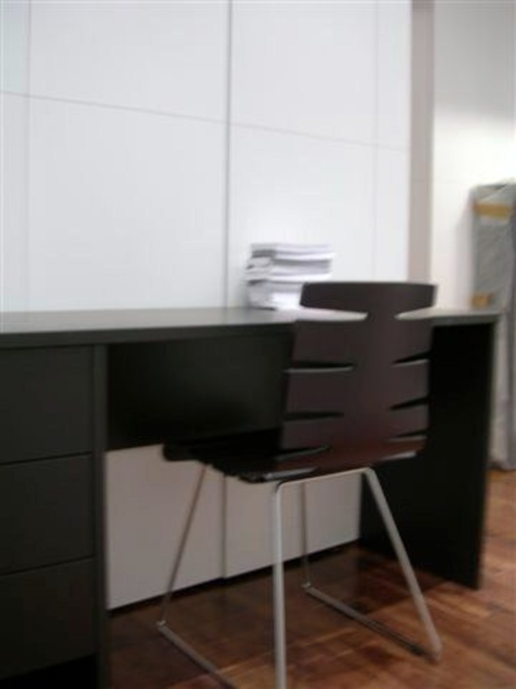 PROJECT - London's Kensington Modern study/office by Anna Hansson Design Modern