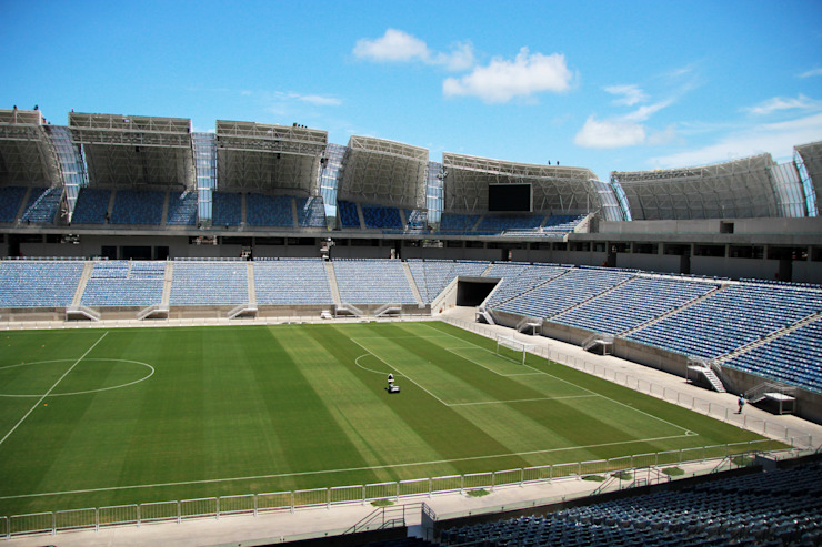 World Cup 2014 Arena das Dunas Stadiums by Populous