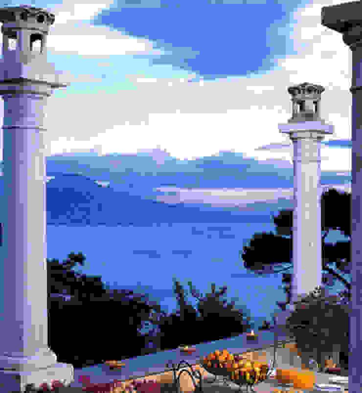 Terrazzo Case in stile mediterraneo di Venezia Tre Mediterraneo