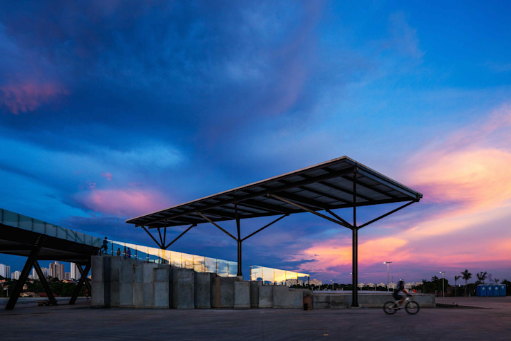 Arena Pantanal Stades modernes par GCP Arquitetura & Urbanismo Moderne
