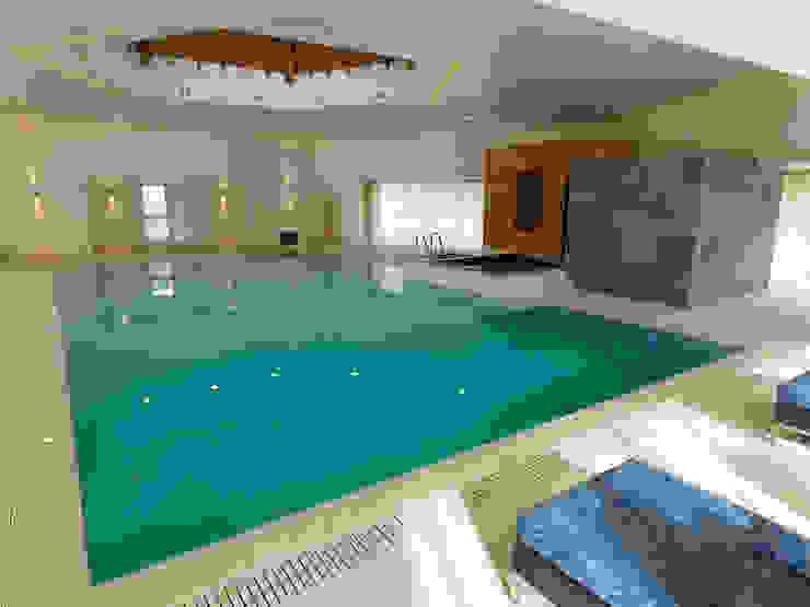 Private Sussex Estate: modern  by Milk Leisure Ltd., Modern