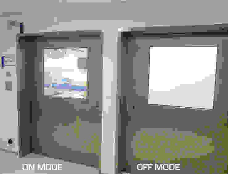 Hospital Sirio-Libanés en Brasil Hospitales de estilo moderno de Vidrios de privacidad Moderno