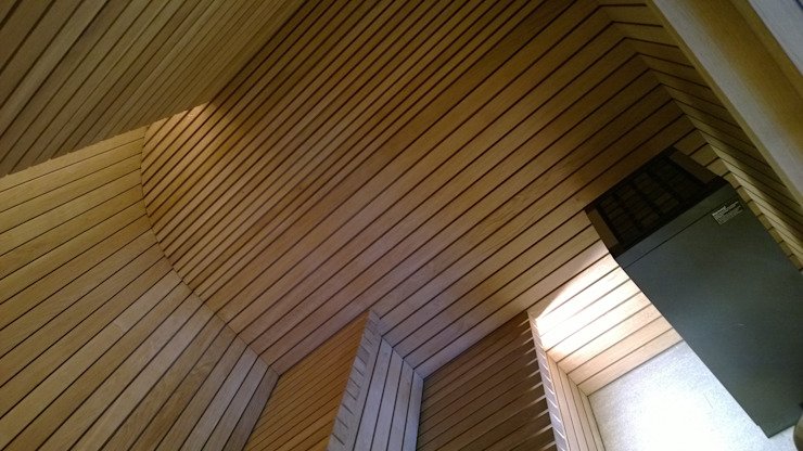 Sauna Modern spa by Milk Leisure Ltd. Modern
