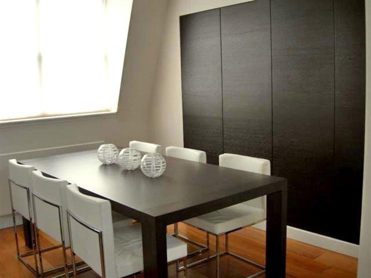PROJECT: A 2-bed apartment in Bayswater. Modern dining room by Anna Hansson Design Modern