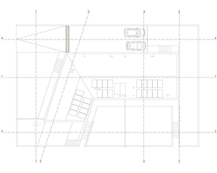 house studio: living workshop francesco valentini architetto