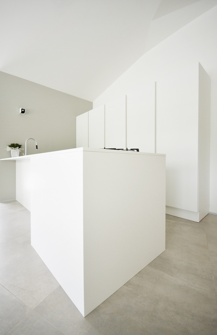 house studio: living workshop francesco valentini architetto Kitchen