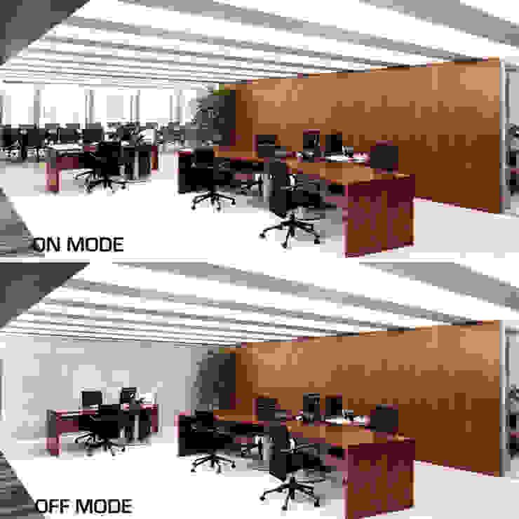 Vidrios de privacidad Modern office buildings