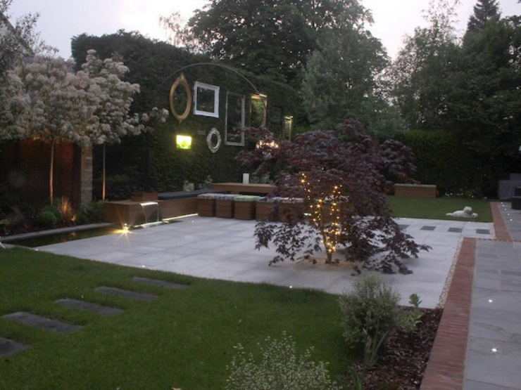 The Gallery Garden Modern style gardens by Cool Gardens Landscaping Modern