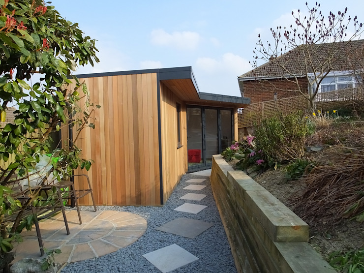 Garden Rooms by eDEN Garden Rooms Modern style gardens by eDEN Garden Rooms Ltd Modern