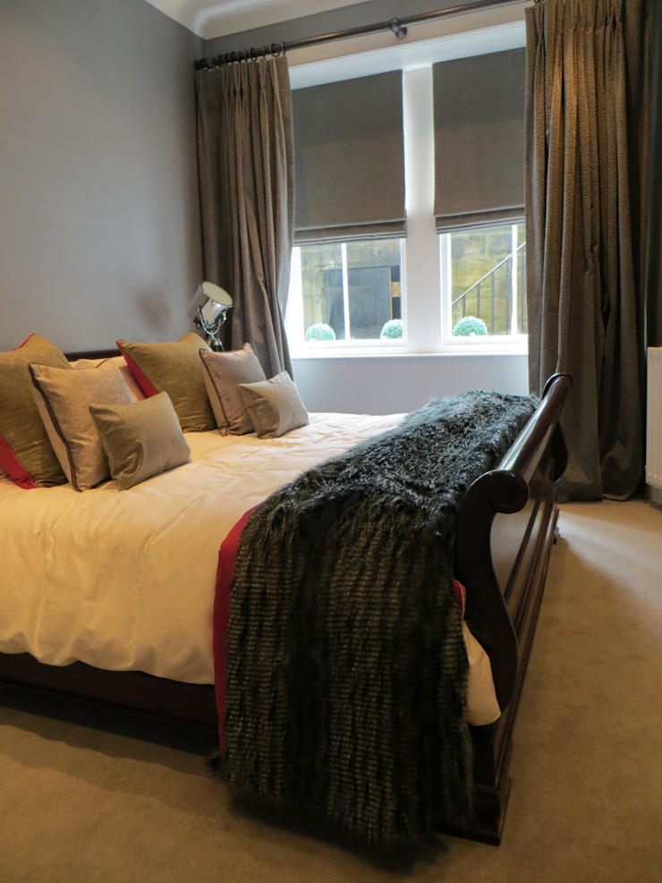 Bedroom by Gayfield Design