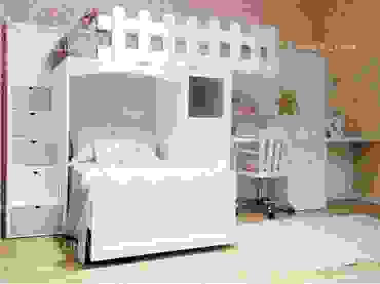 LITERAS INFANTILES Dormitorios infantiles de estilo moderno de CANBALLINI KIDS Moderno