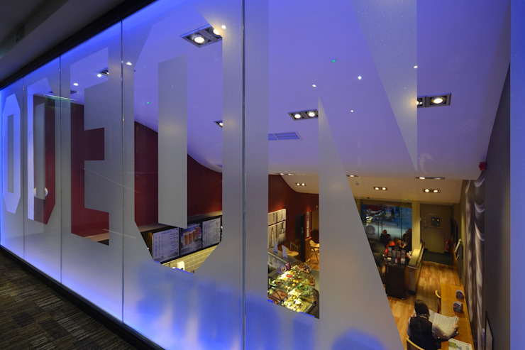 Odeon Cinemas Modern commercial spaces by NRN Design Modern