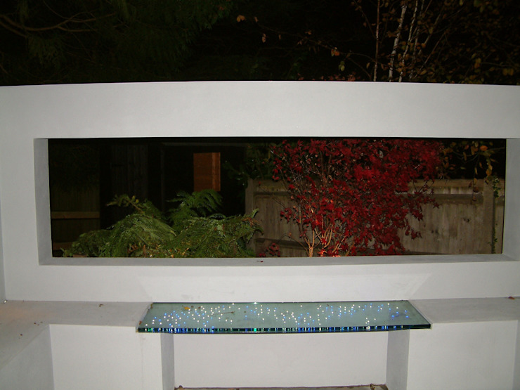 Star Light Bench Modern garden by Cool Gardens Landscaping Modern