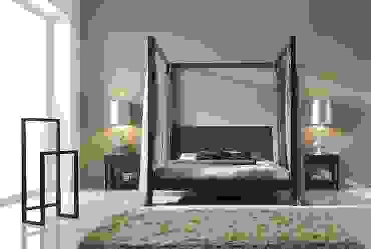 Dormitorio en Nogal Español Dormitorios de estilo moderno de InterNamaste Moderno