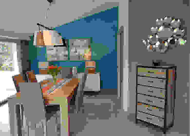 Ruang Makan Modern Oleh UN AMOUR DE MAISON Modern