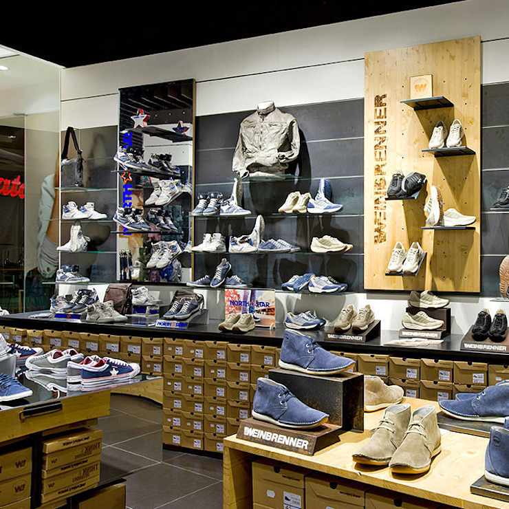 Arredamento negozio realizzato da NIVA-line Centri commerciali moderni di Ni.va. Srl Moderno