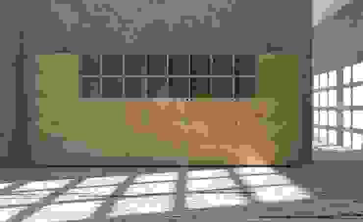 Aktenregal aus MDF Moderne Arbeitszimmer von stocubo - Das modulare Regalsystem Modern