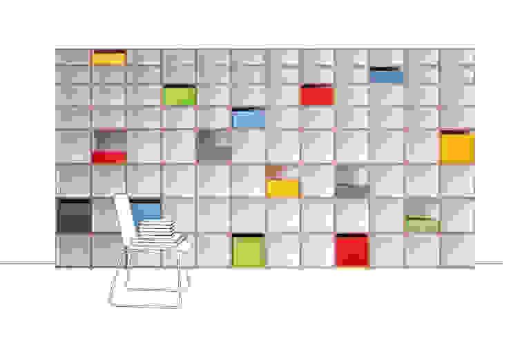 Aktenregal: modern  von stocubo - Das modulare Regalsystem,Modern