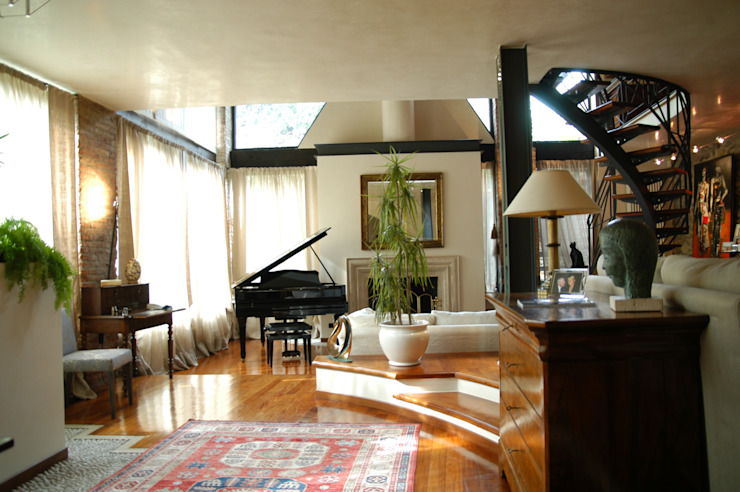 ingresso Paolo Gerosa Design Studio Case eclettiche
