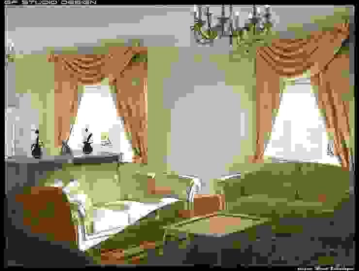 Interior Design Case in stile asiatico di GF Studio Design Asiatico