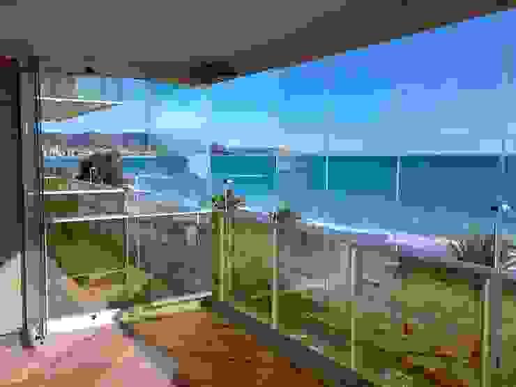 Cortina de cristal en Benicassim CRISTALERIA GLASS CASTELLO S.L Puertas y ventanasVentanas