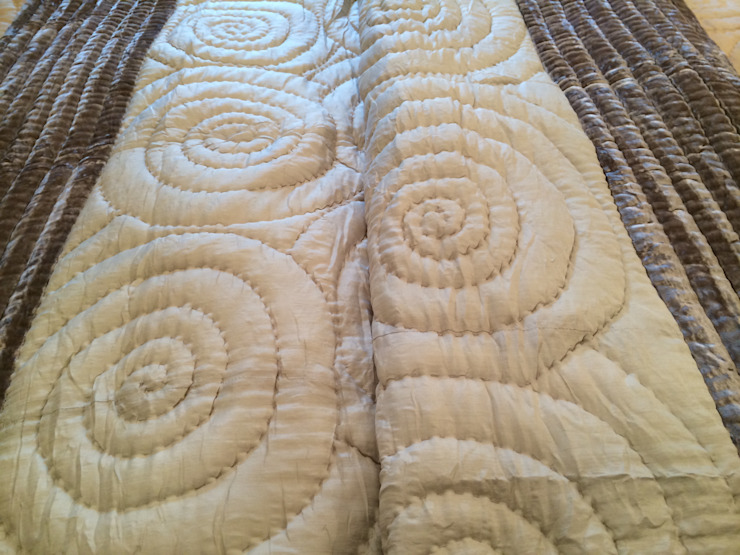 Mulberry Silk and Velvet Quilts: asian  by Luella Linen, Asian