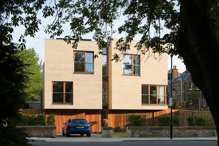 New villa in West Edinburgh Modern houses by ZONE Architects Modern
