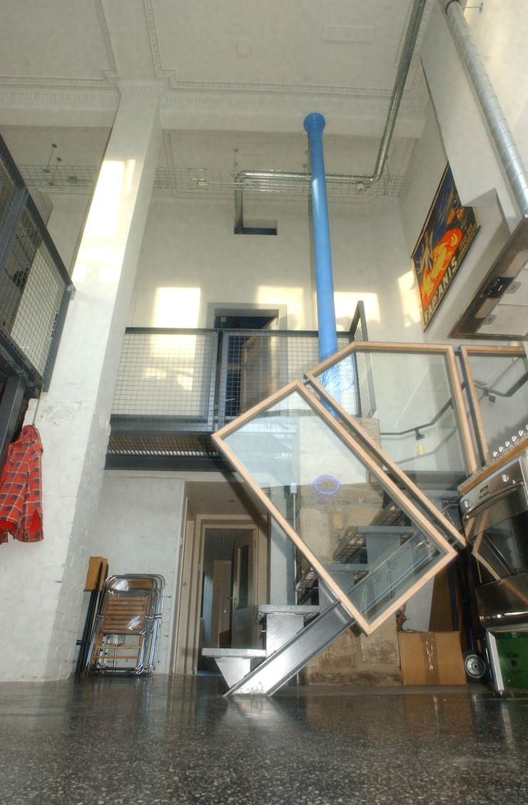 Royal Park Terrace - stair Houses by ZONE Architects