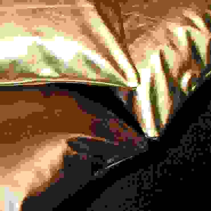 Genuine leather cushions by Miyabi casa
