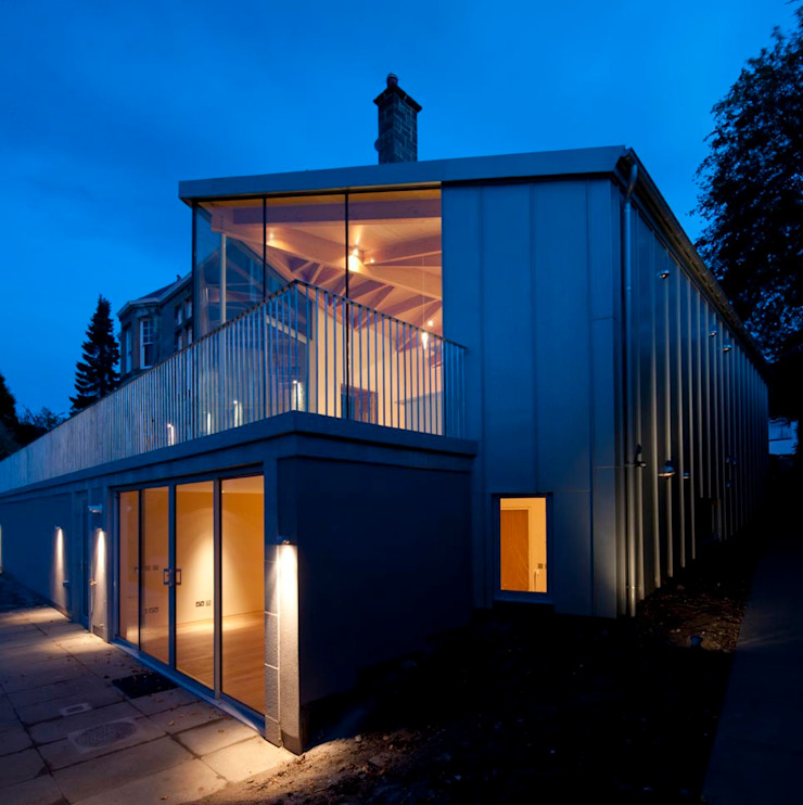 South Queensferry - extension Modern houses by ZONE Architects Modern