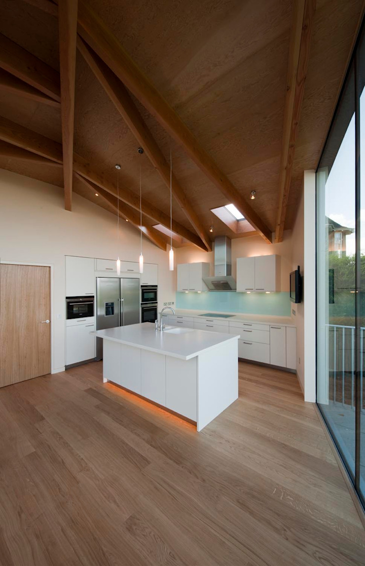 South Queensferry - kitchen Modern houses by ZONE Architects Modern