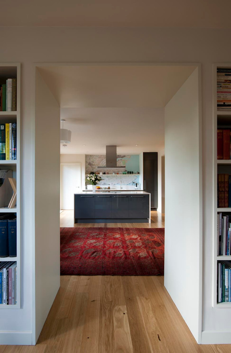 St Andrews - kitchen Houses by ZONE Architects