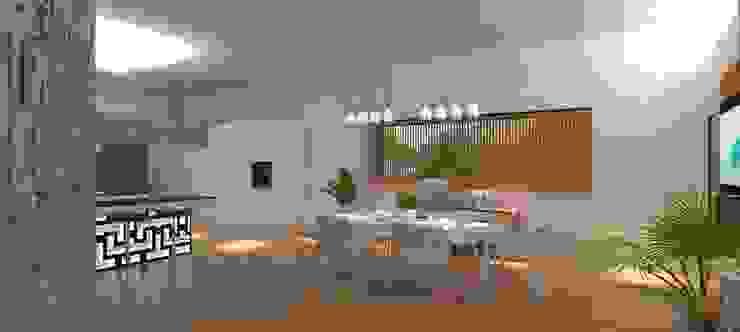 Столовые комнаты в . Автор – LE LAB Design, Модерн