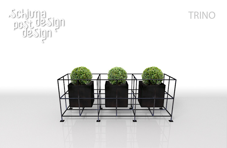 SCHIUMA POST DESIGN Balconies, verandas & terraces Plants & flowers