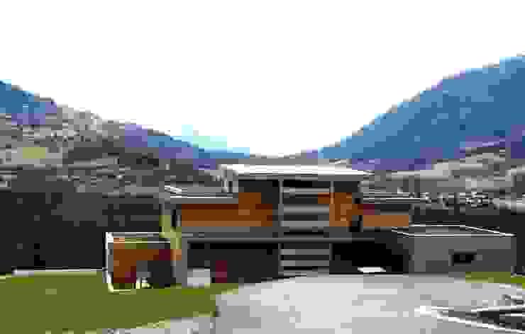 La performance architecturée Maisons modernes par AMEO Construction Moderne