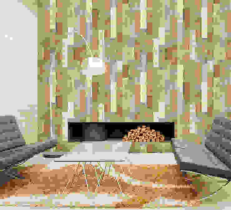 Salón con Madera Multicolor LW 478 de Élite Diseños