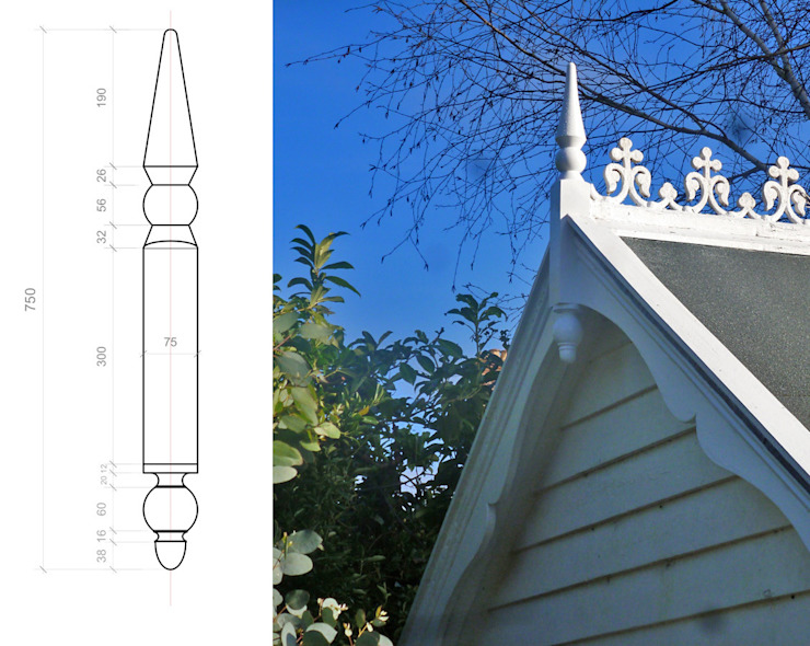 Restoring Edwardian Summer House Classic style garden by Paul D'Amico Remodels Classic