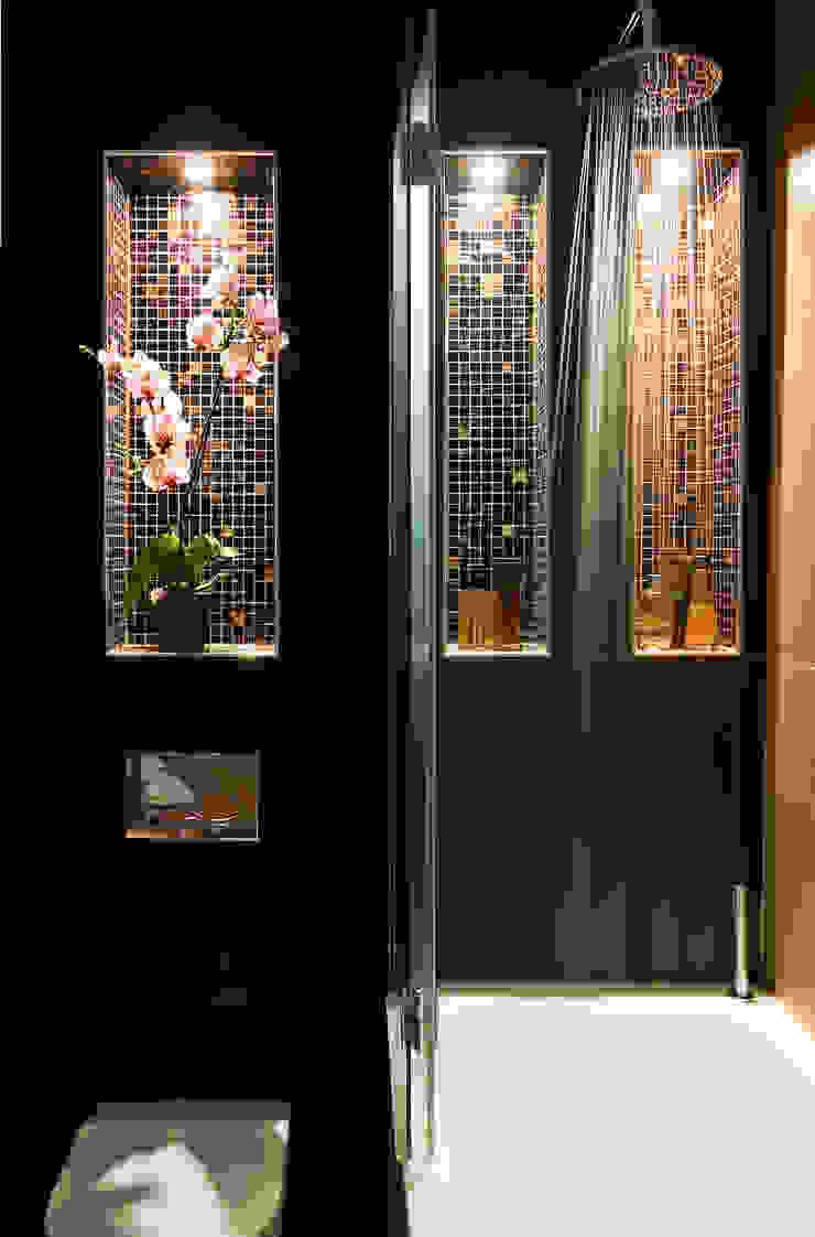 A sexy, atmospheric ensuite Ванная комната в эклектичном стиле от Matteo Bianchi Studio Эклектичный