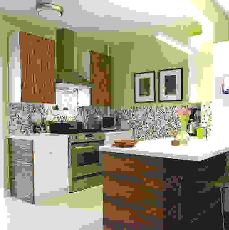 Muebles de cocina revestido con Infeel de Élite Diseños