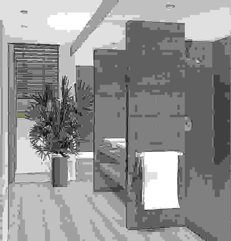 agencer salle de bain Salle de bain moderne par agence concept decoration Moderne