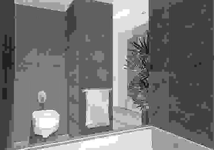 decoration salle de bains Salle de bain moderne par agence concept decoration Moderne