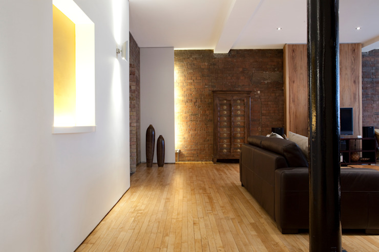 Old Street N1: Victorian Mill conversion Classic style houses by Increation Classic