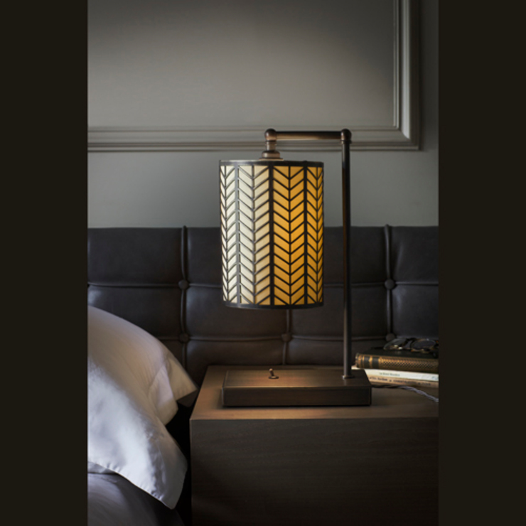Table Lamp with Lattice by homify