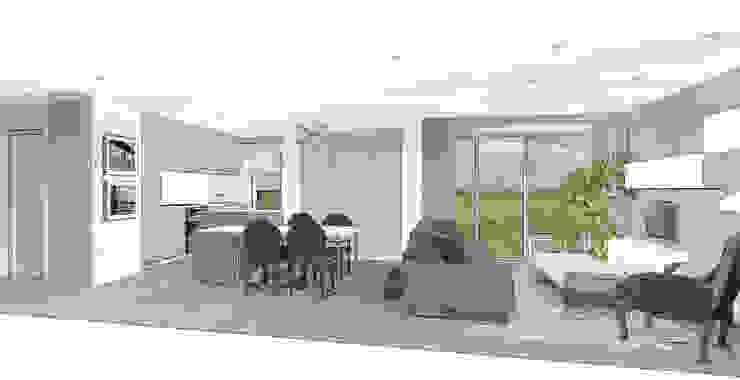 Séjour Cosy Salon classique par agence concept decoration Classique